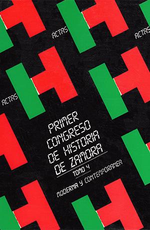 Tomo 4. Congreso I de historia de Zamora