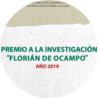 """Premio de Investigación """"Florián de Ocampo"""" 2019"""